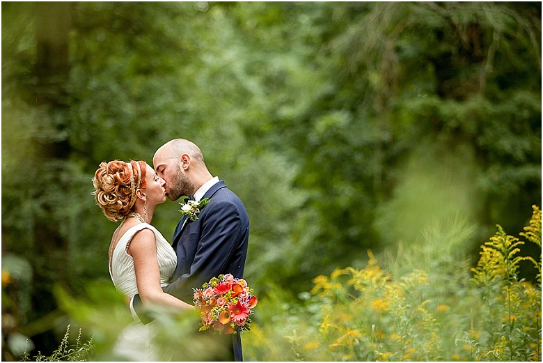 Running Deer Wedding Photos by Vineland Wedding Photographer