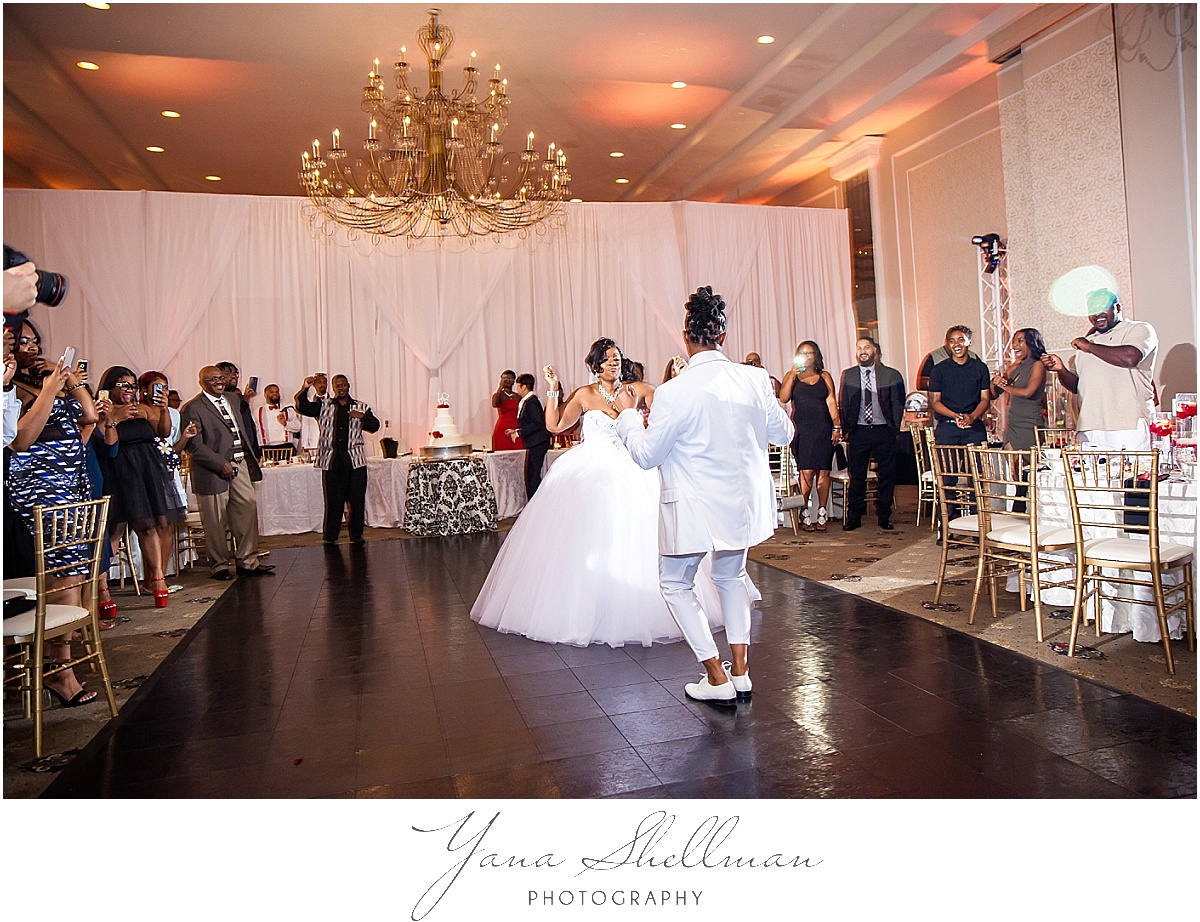 Regal Ballroom wedding by LBI rustic Wedding Photographer
