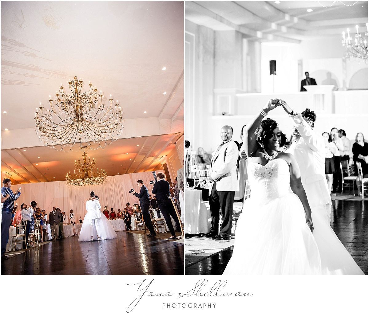 Regal Ballroom wedding by rustic Wedding Photographer near Princeton