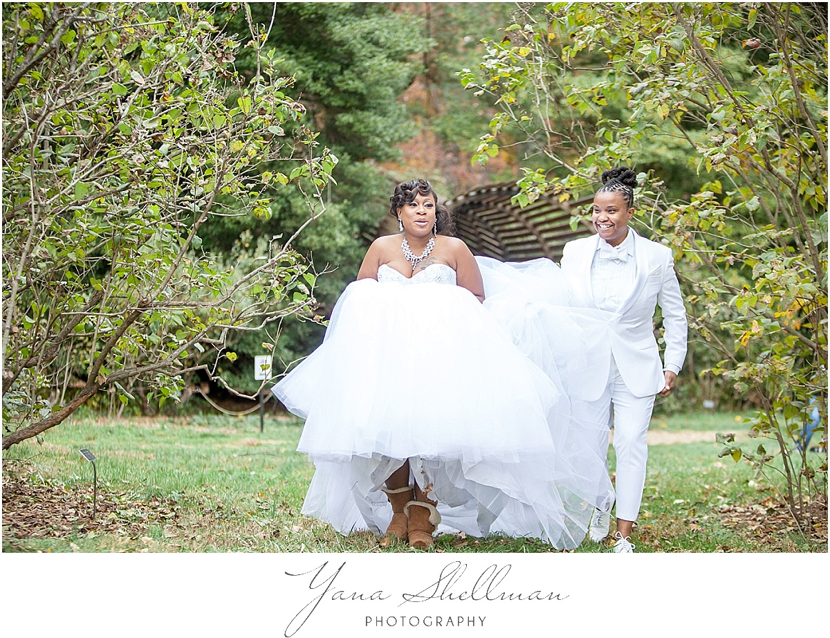 Morris Arboretum Wedding by Cherry Hill Wedding Photographer