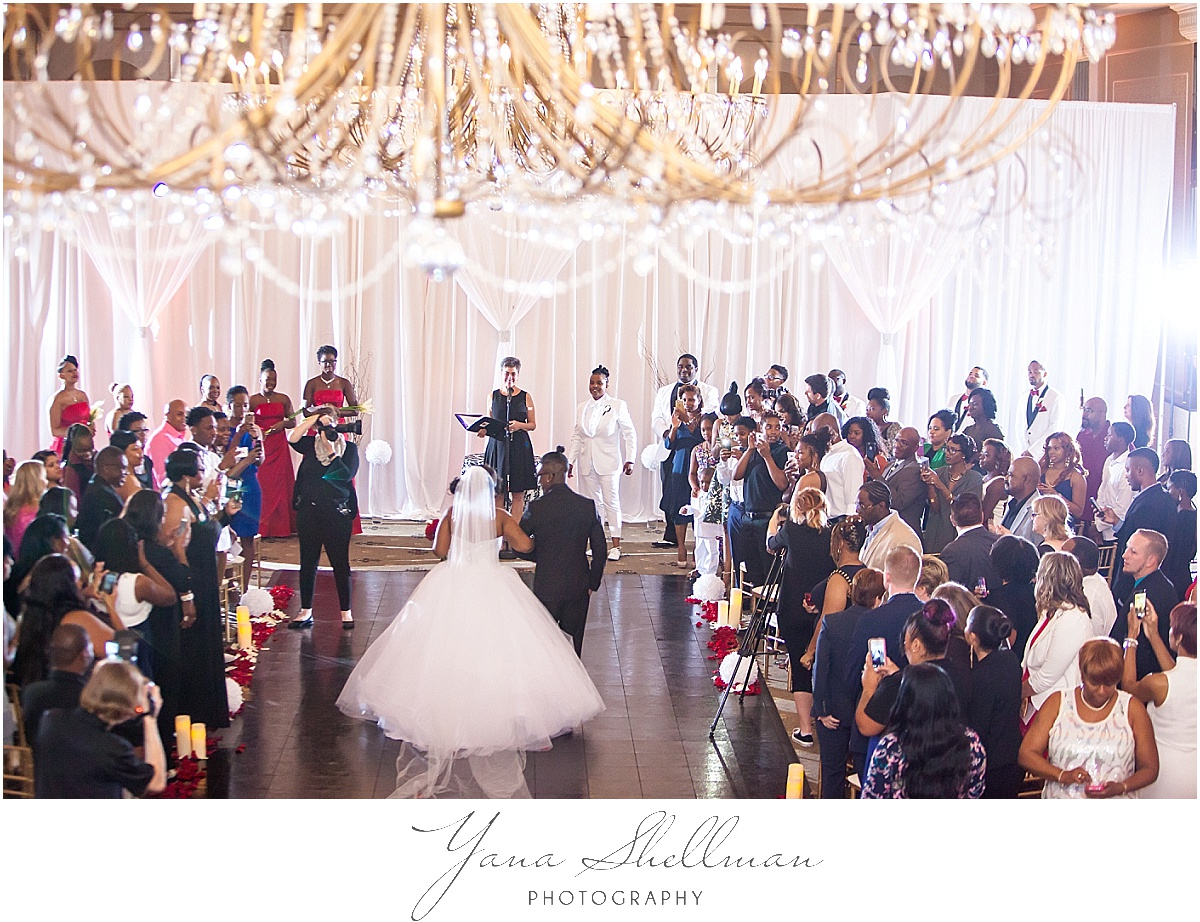 Philadelphia Regal Ballroom wedding by the best Wedding Photographer near Central Jersey