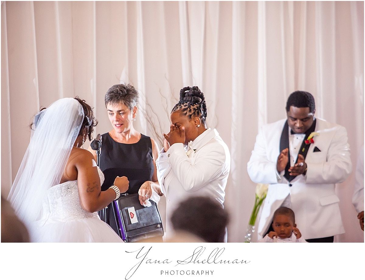 Philadelphia Regal Ballroom wedding by the best photojornalistic Wedding Photographer near Cape May