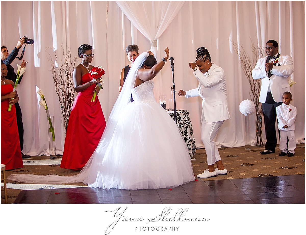 Philadelphia Regal Ballroom wedding by the best Wedding Photographers near North Jersey