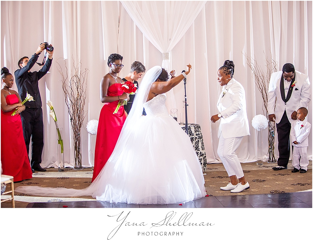 Philadelphia Regal Ballroom wedding by the best Wedding Photographers near NJ