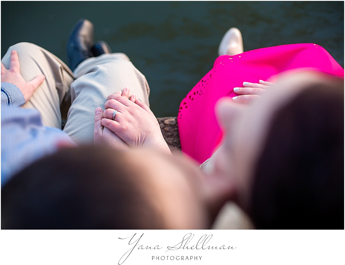 Cherry Blossoms Engagement Session by South Jersey Wedding Photographer