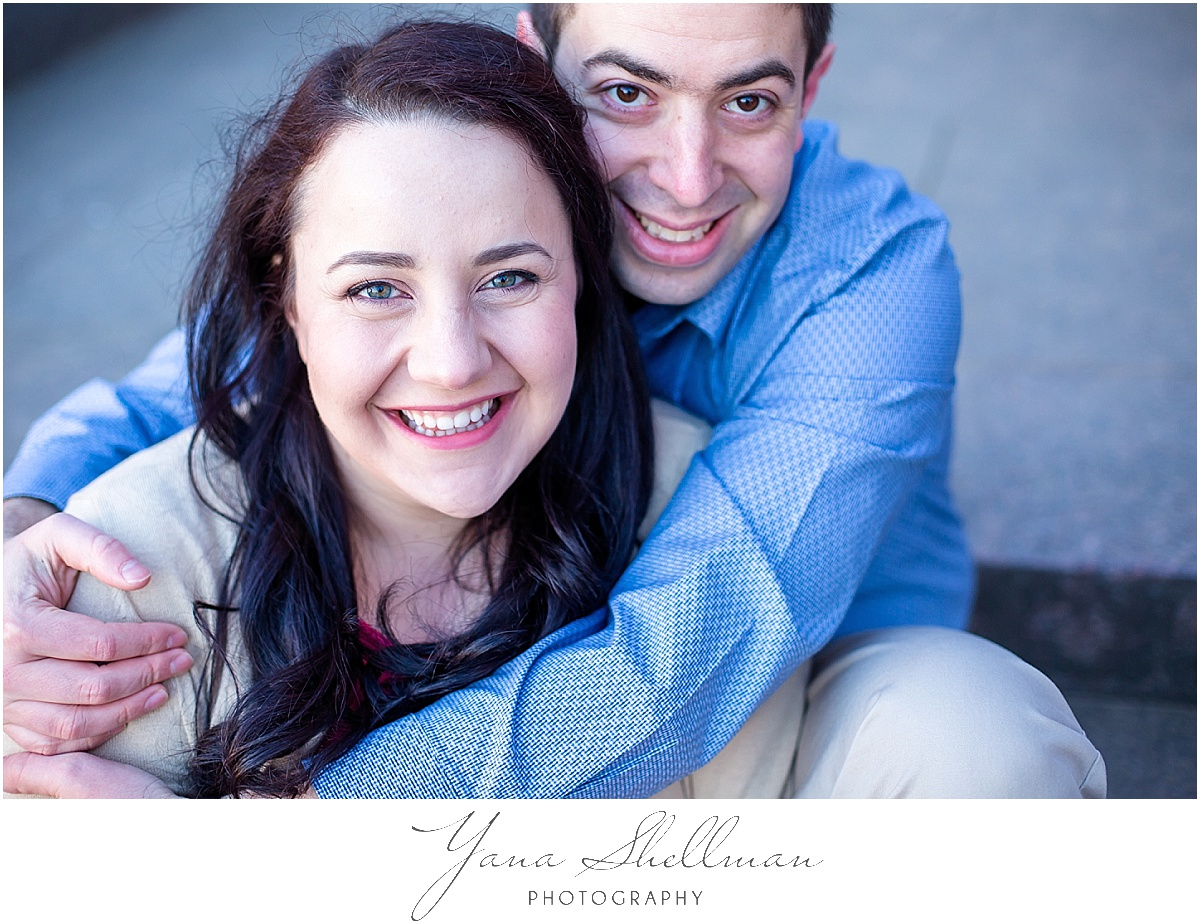 Cherry Blossom Engagement Session by Philadelphia Wedding Photographers