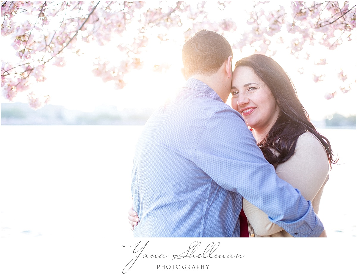 Cherry Blossom Engagement Session by Philly Wedding Photographer