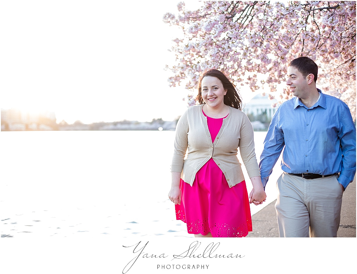Washington DC Engagement Session by LBI Wedding Photographer