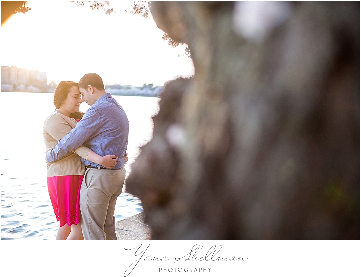 Cherry Blossom Engagement Session by LBI Wedding Photographers