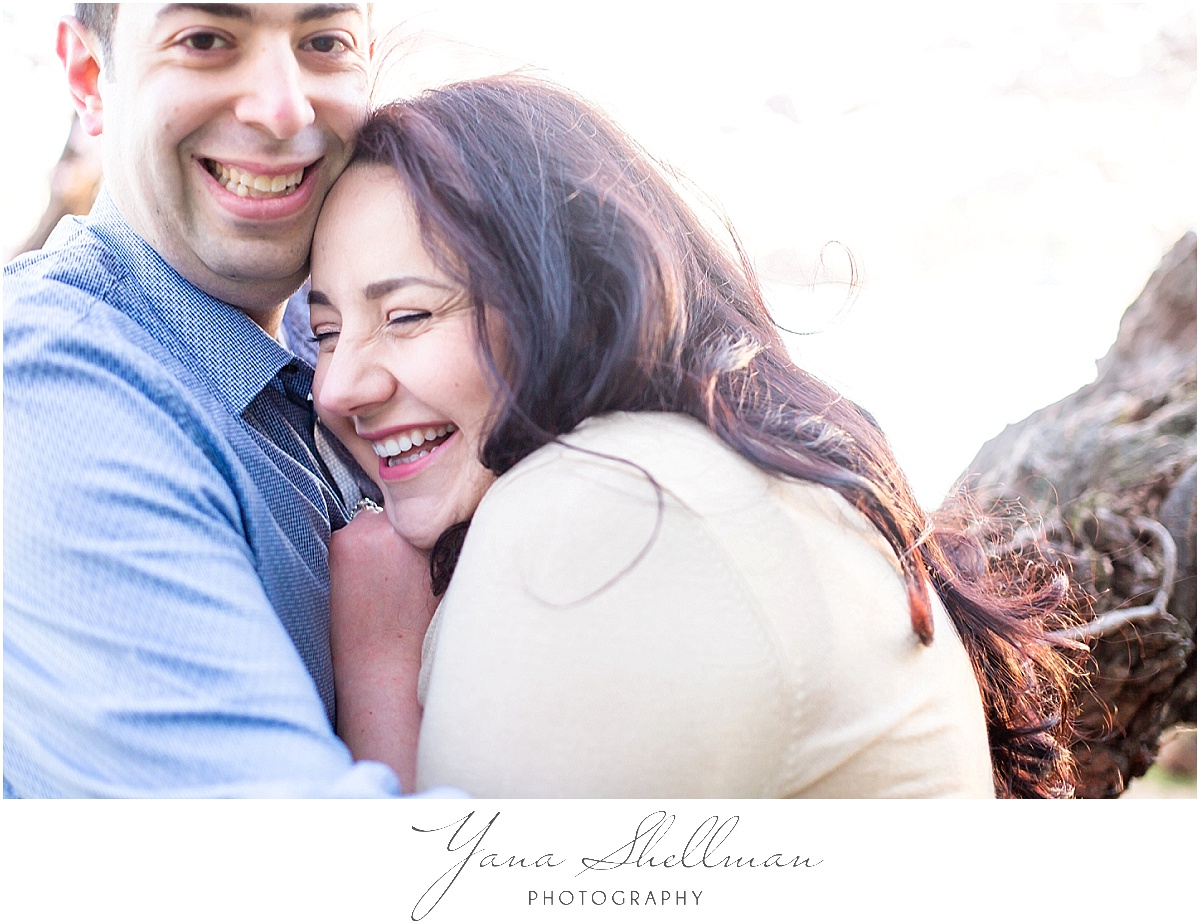Cherry Blossoms Engagement Session by LBI Wedding Photographers