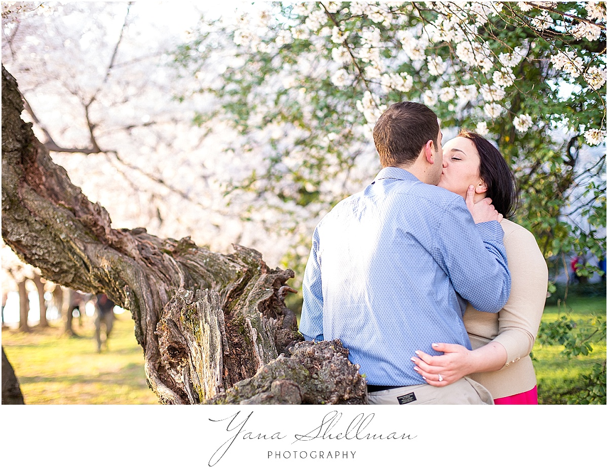 Washington DC Engagement Session by Cherry Hill Wedding Photographers