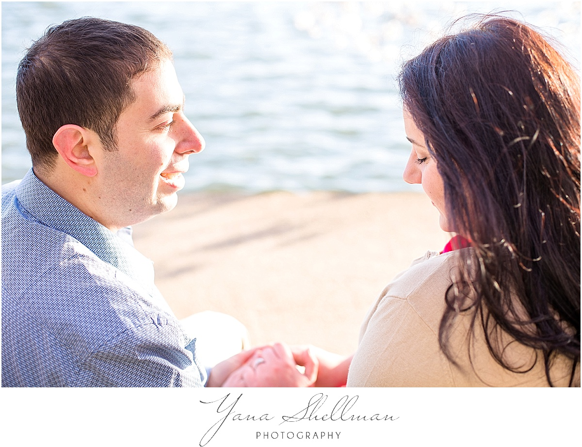 Cherry Blossom Engagement Session by Avalon Wedding Photographer