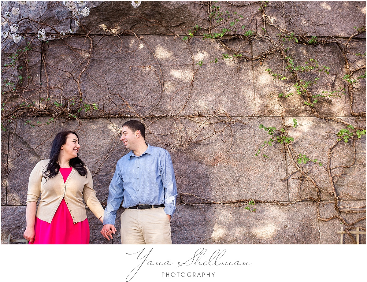 Cherry Blossom Engagement Session by Point Pleasant Wedding Photographers