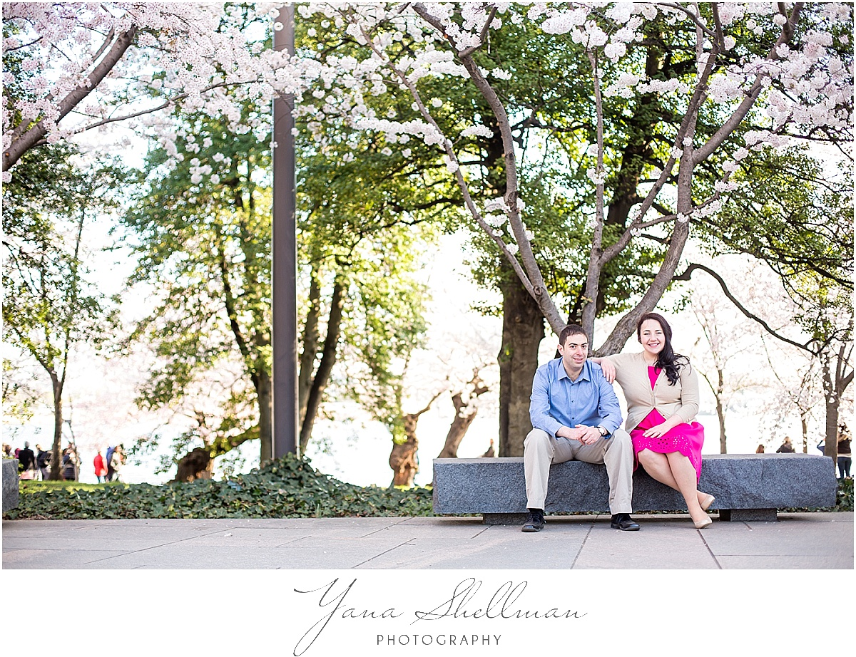 Washington DC Engagement Session by Vineland Wedding Photographers