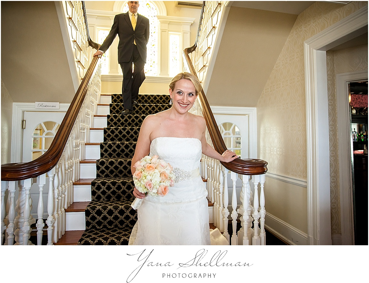 Peter Shields Inn Wedding Photos by Cape May Wedding Photographer