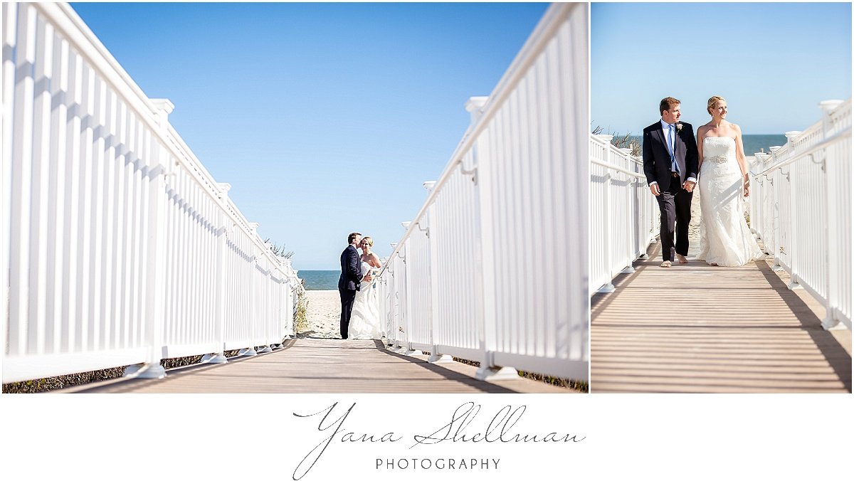 Avalon Yacht Club Wedding Photos by NJ Wedding Photographer