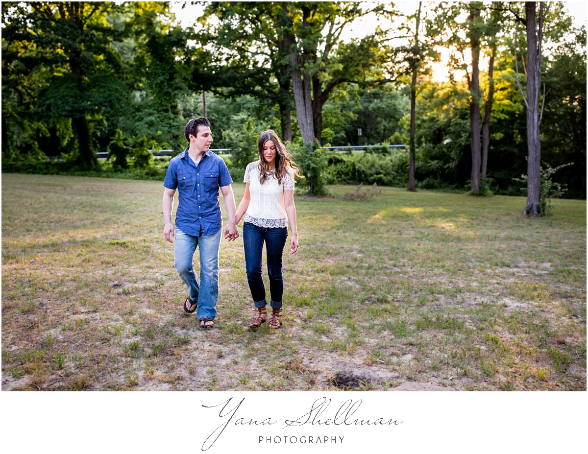 Moorestown Community House Wedding by Cherry Hill Wedding Photographer - Lindsay+Rob South jersey engagement session