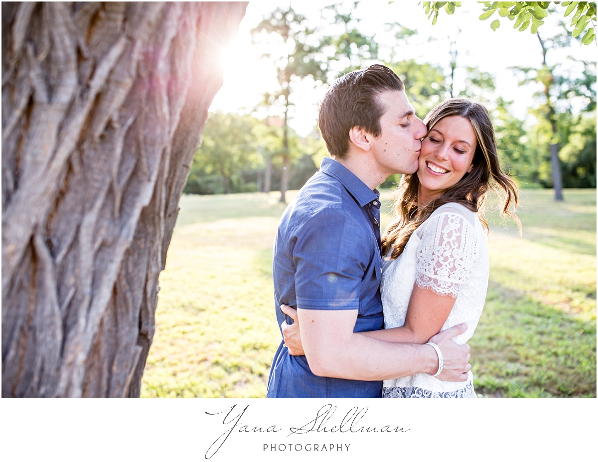 Indian Spring Country Club Wedding by Cherry Hill Wedding Photographer - Lindsay+Rob Engagement Session