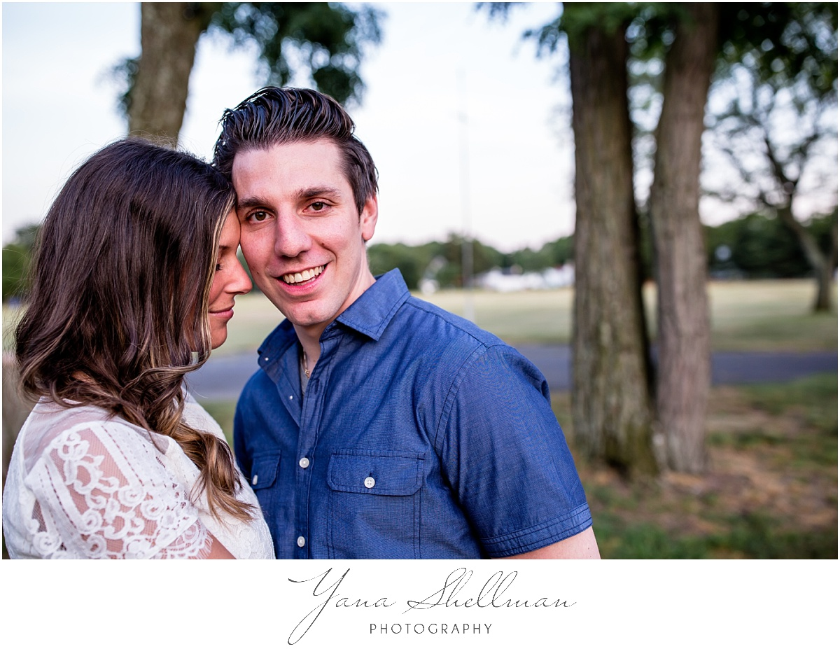 Lakeside Manor Wedding by Vineland Wedding Photographer - Lindsay+Rob Philly Engagement Session