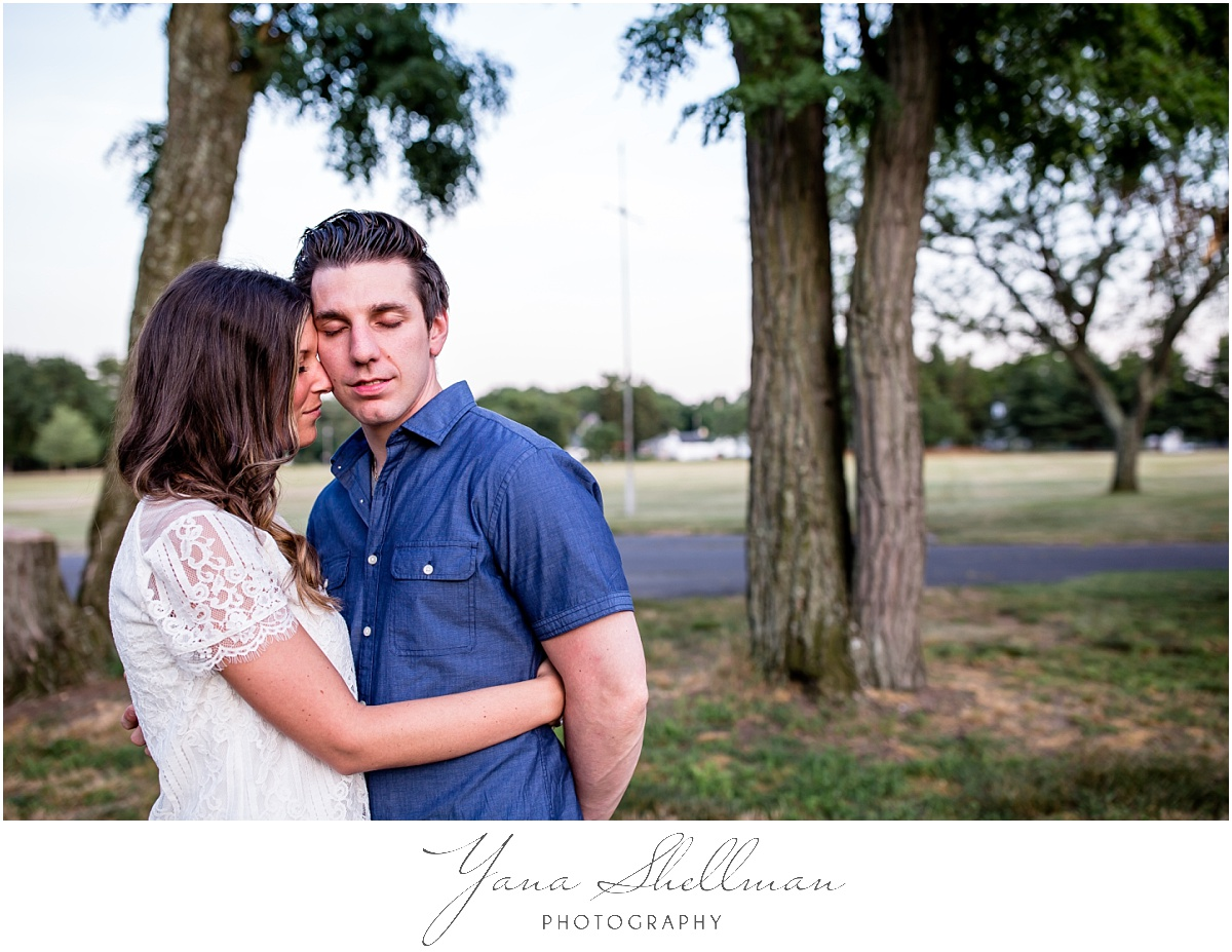 Laurel Creek Country Club Wedding by Cherry Hill Wedding Photographers - Lindsay+Rob Vineland engagement Session