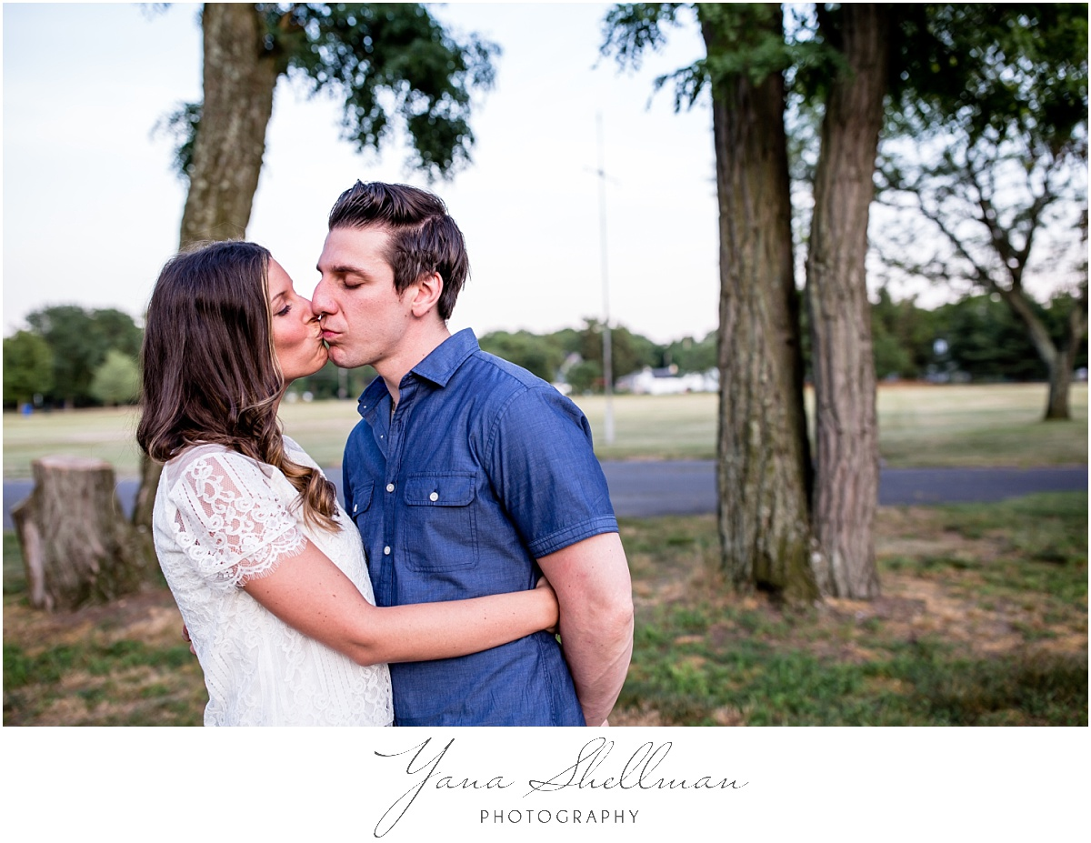 Lucien's Manor Wedding by Princeton Wedding Photographer - Lindsay+Rob Berlin Engagement Session