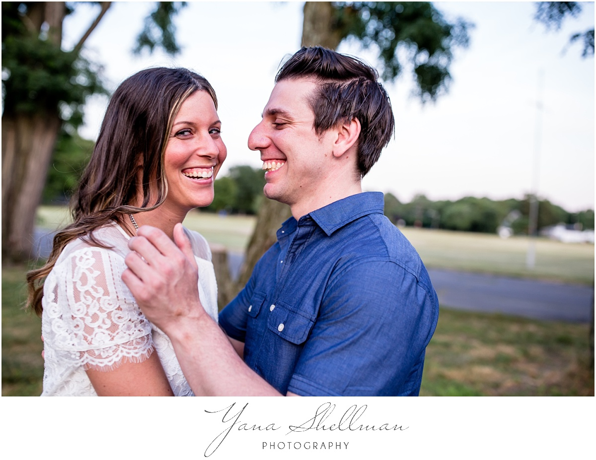 Moorestown Ballroom Wedding by Haddonfield Wedding Photographer - Lindsay+Rob Cherry hill engagement session