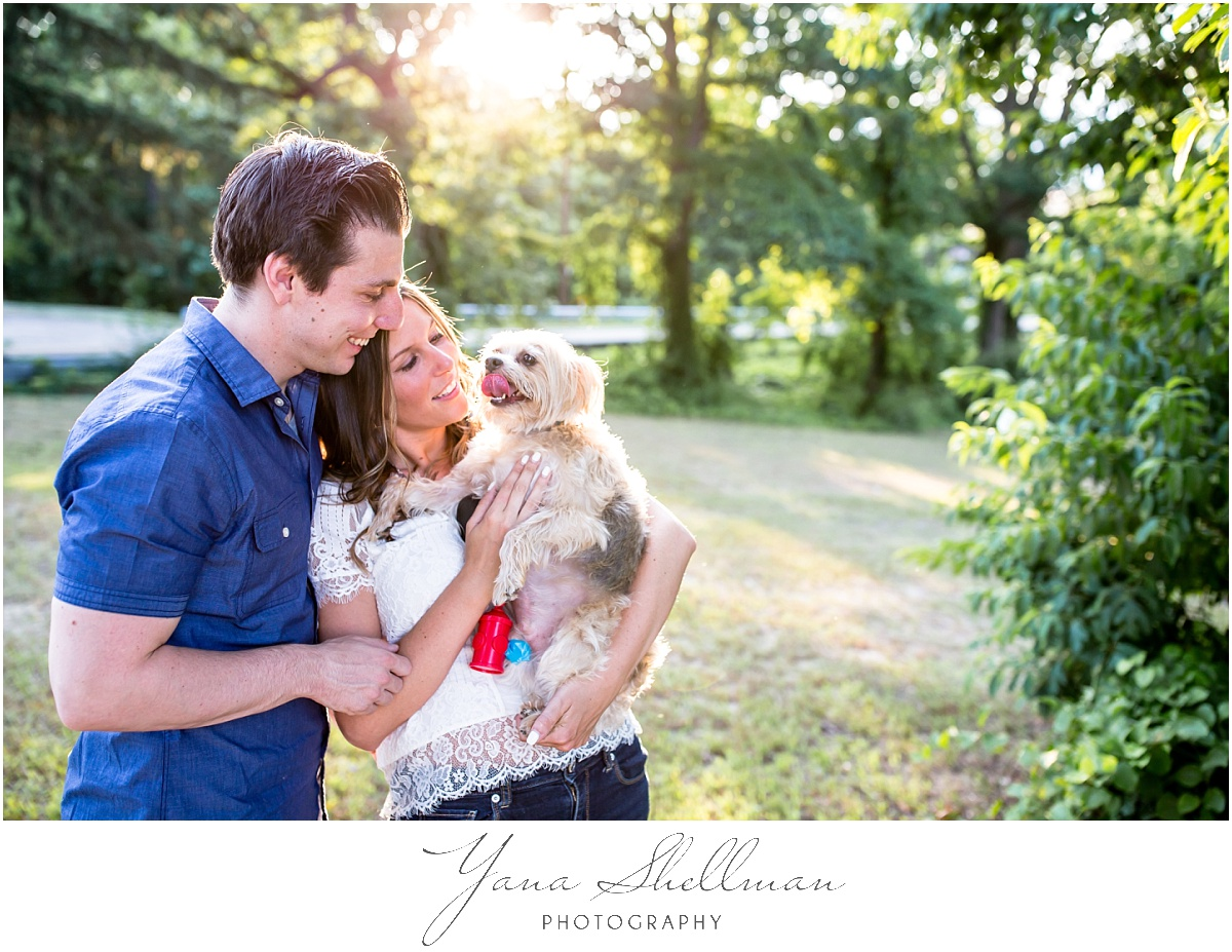 Crowne Plaza Cherry Hill Wedding by Princeton Wedding Photographer - Lindsay+Rob Philly Engagement Session