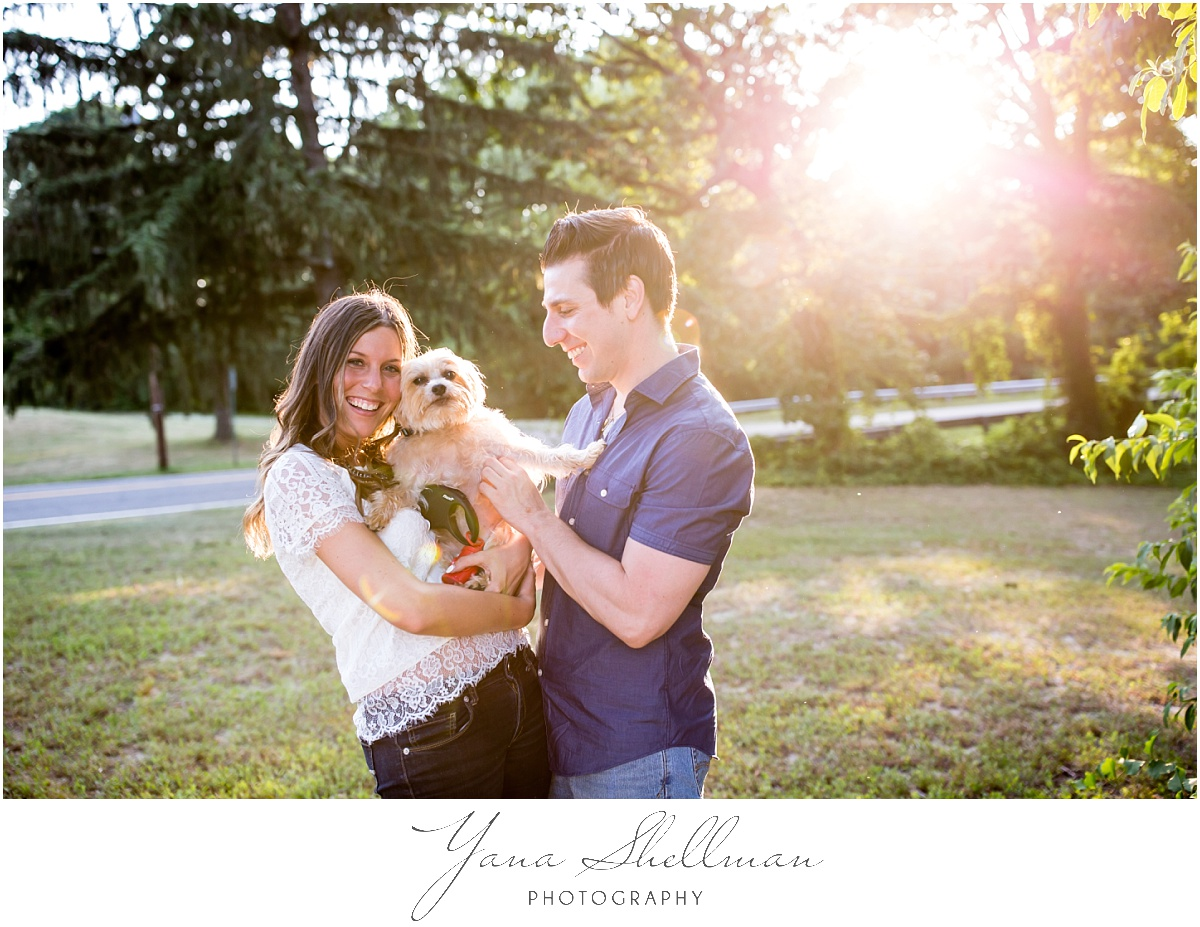 Indian Spring Country Club Wedding by Philly Wedding Photographer - Lindsay+Rob Engagement Session