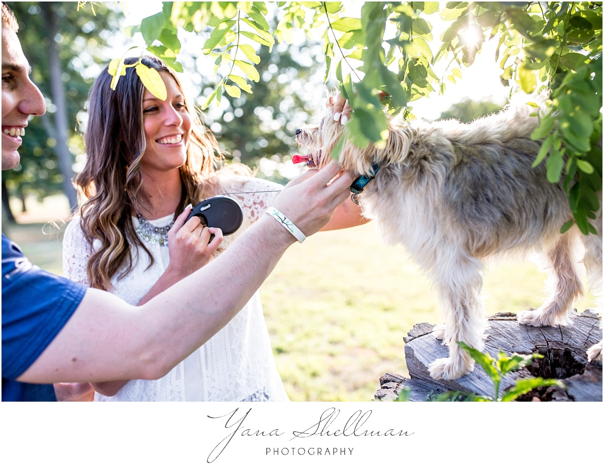 Brigalias Wedding by Cherry Hill Wedding Photographer - Lindsay+Rob engagement session