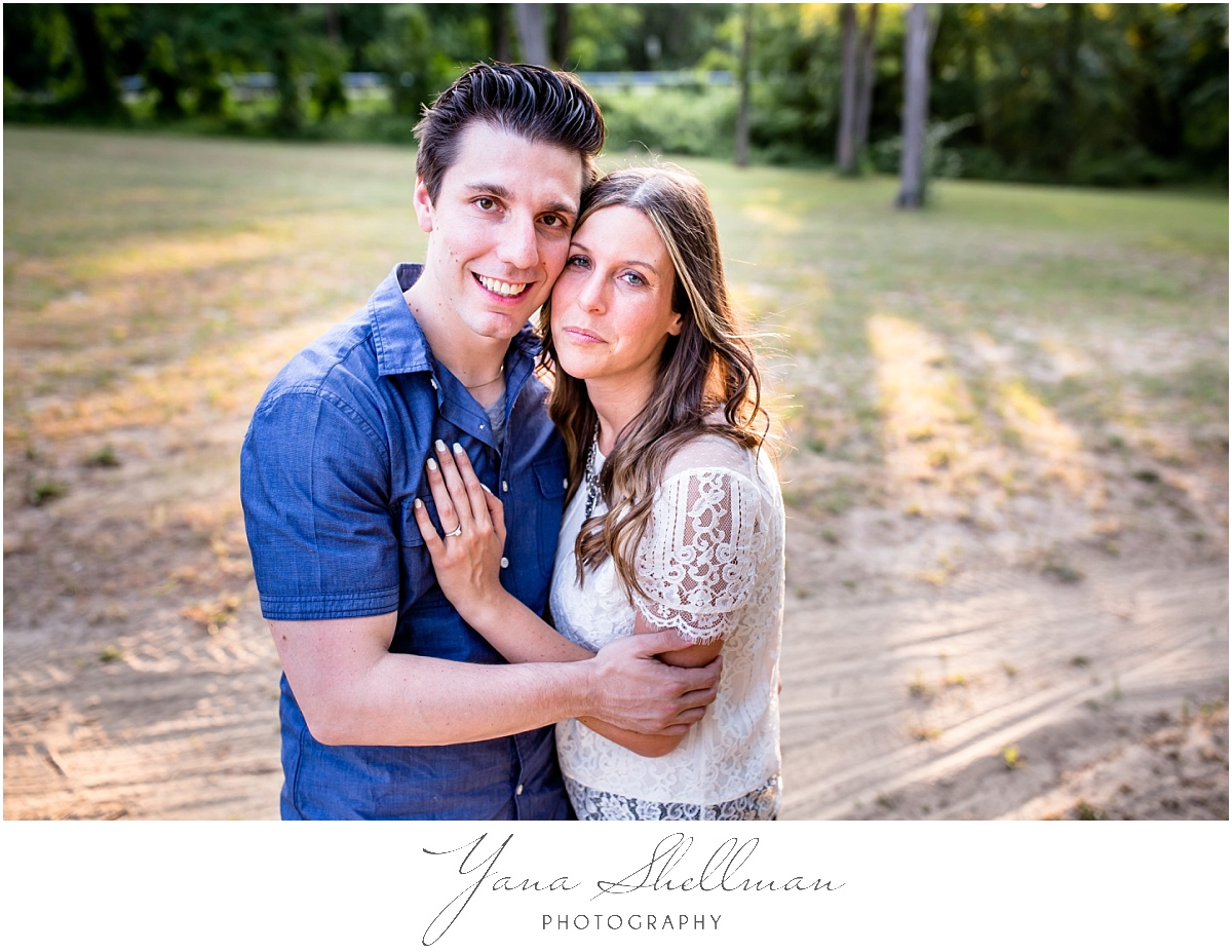 Collingswood Grand Ballroom Wedding by Voorhees Wedding Photographer - Lindsay+Rob Philly Engagement Session