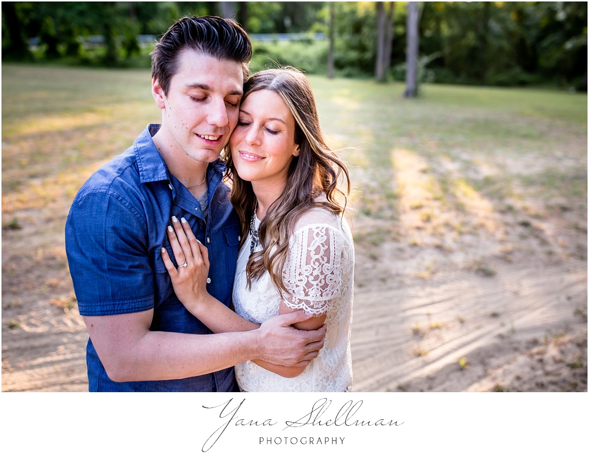 Crowne Plaza Cherry Hill Wedding by Philly Wedding Photographer - Lindsay+Rob Philly Engagement Session