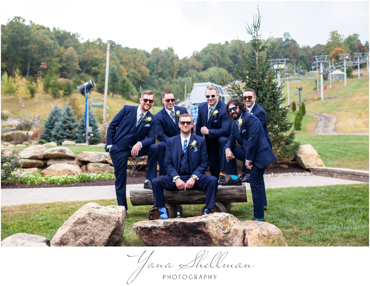 Bear Creek Mountain Resort Wedding Photos by the best Central Jersey Wedding Photographer - Tiffany+Mike Wedding Photos