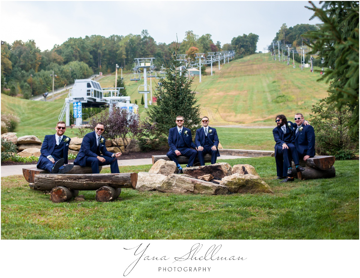 Bear Creek Mountain Resort Wedding Photos by the best Central Jersey Wedding Photographers - Tiffany+Mike Wedding Photos