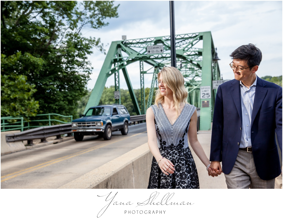 Centre Bridge Inn Wedding Photos by Philadelphia Wedding Photographer - Rachel+Sinan Wedding Photos