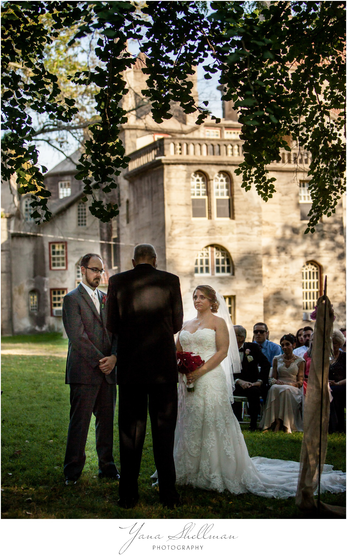 Fonthill Castle Estate Wedding Photos by West Chester Wedding Photographers - Stacey+Steve Wedding Photos