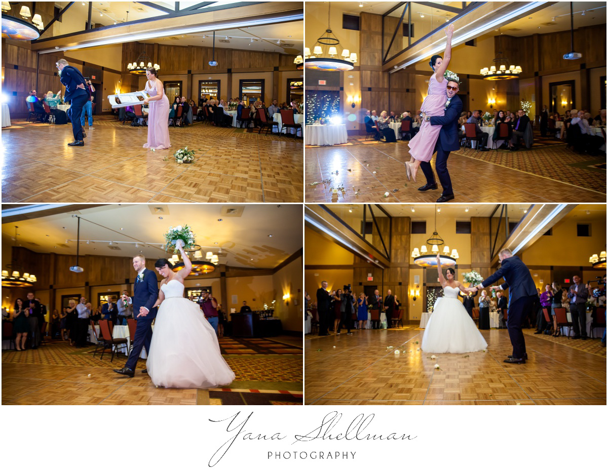 Bear Creek Mountain Resort Wedding Photos by Medford Wedding Photographers - Tiffany+Mike Wedding Photos