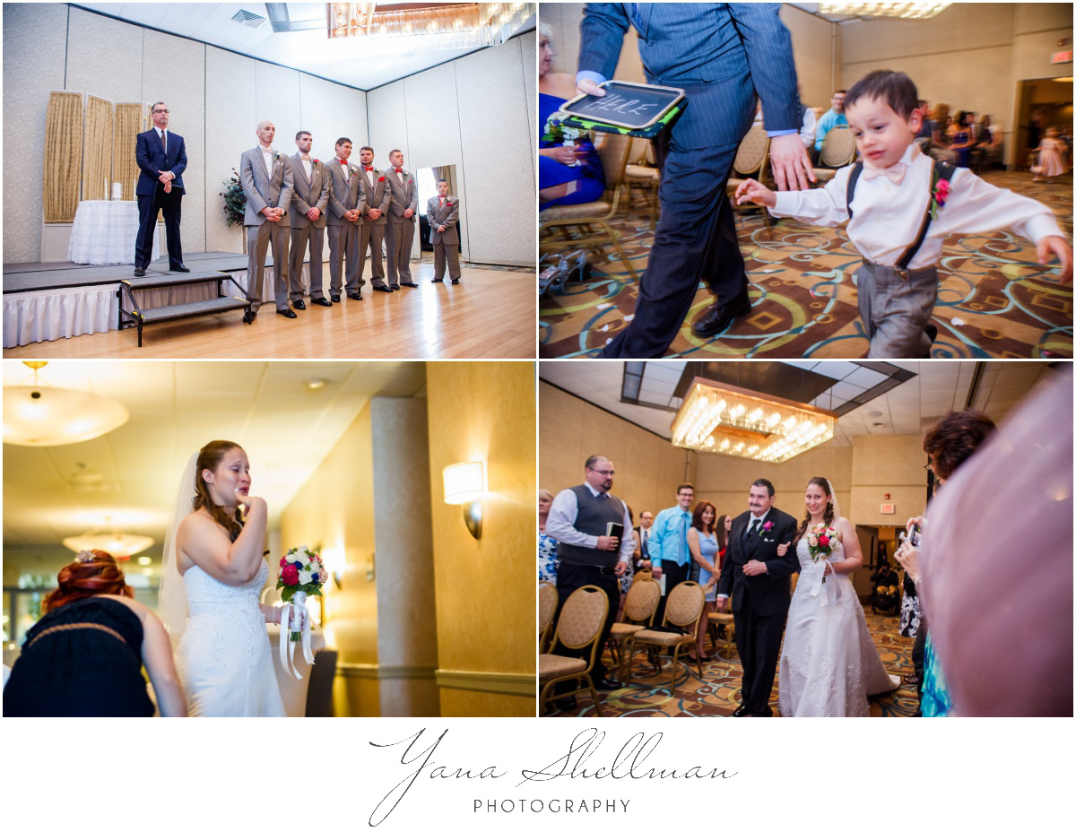 Radisson Hotel Philadelphia Wedding Photos by Marlton Wedding Photographers - Rachel+Rick Wedding Photos