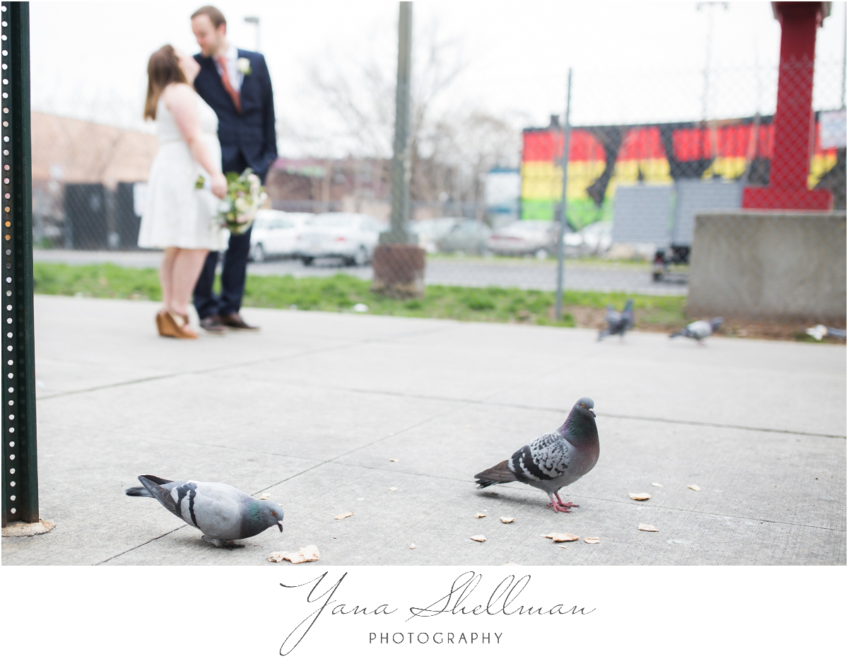 Philadelphia Elopement Photos by the best South Jersey Wedding Photographers - Hillary+Rob's Elopment Photos