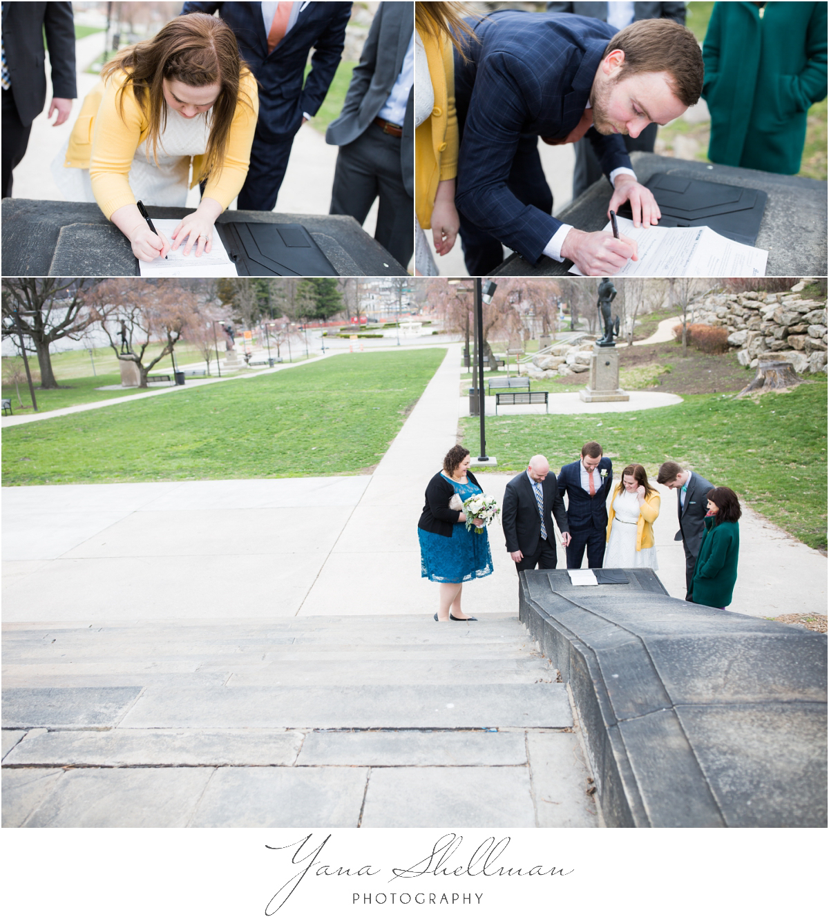 Philadelphia Elopement Photos by Center City Philly Wedding Photographer - Hillary+Rob's Elopment Photos