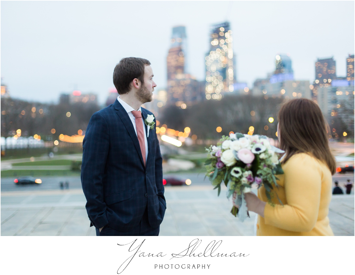 Philadelphia Elopement Photos by West Chester Wedding Photographers - Hillary+Rob's Elopment Photos