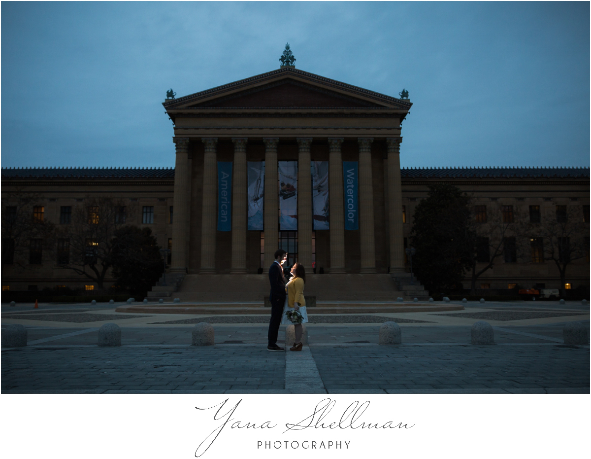 Philadelphia Elopement Photos by the best West Chester Wedding Photographers - Hillary+Rob's Elopment Photos