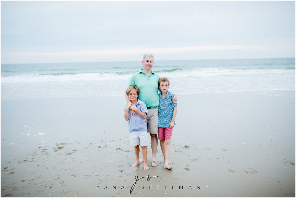 Beach Haven Family Photo Session captured by Lumberton Family Photographer - Tom+Debra Family Photos