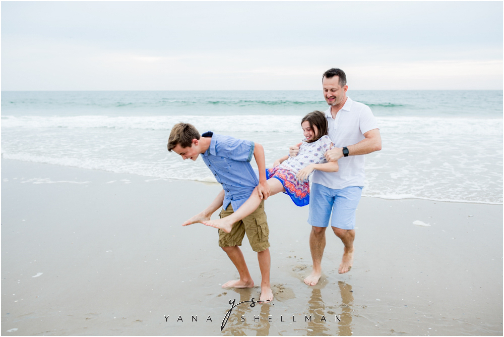 Beach Haven Family Photo Session captured by Loveladies family Photographers - Dave+Debra Family Photos