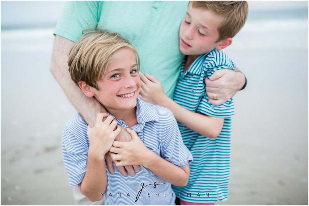 Beach Haven Family Photo Session captured by Lumberton Family Photographers - Tom+Debra Family Photos