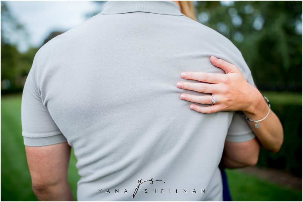 Longwood Gardens Engagement Photo Session by South Jersey Wedding Photographer - Christina+Garret Engagement Session