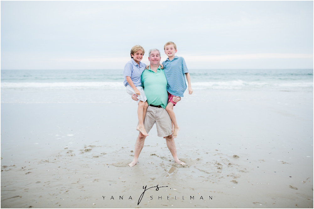 Beach Haven Family Photo Session captured by Medford Family Photographers - Tom+Debra Family Photos