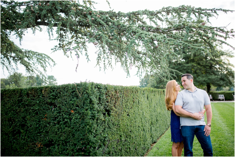 Longwood Gardens Engagement Photo Session by South Jersey Wedding Photographers - Christina+Garret Engagement Session