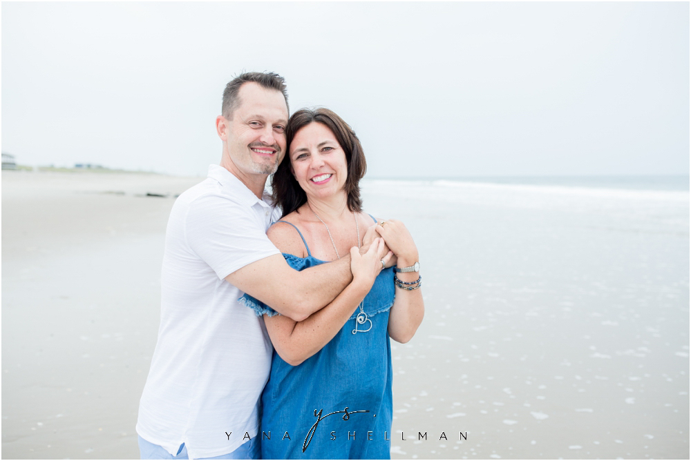 Beach Haven Family Photo Session captured by Barnegar Light family Photographer - Dave+Debra Family Photos