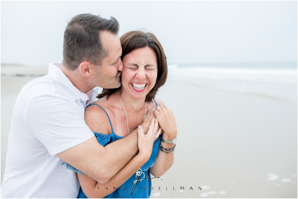 Beach Haven Family Photo Session captured by Barnegar Light family Photographers - Dave+Debra Family Photos