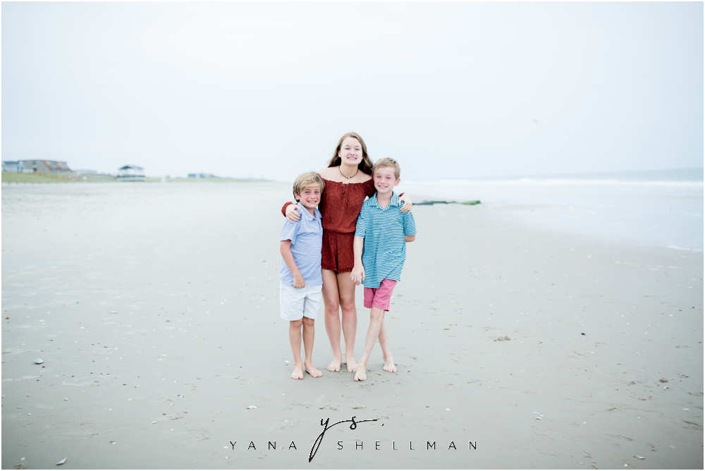 Beach Haven Family Photo Session captured by Medford Photographers - Tom+Debra Family Photos